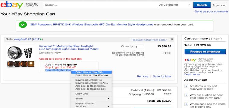 10% Off — eBay's Best Price Guarantee