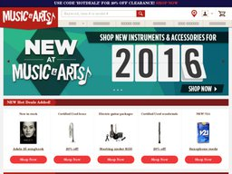 Music & Arts screenshot
