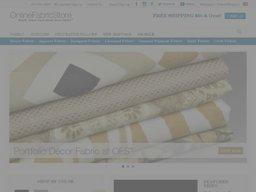 Online Fabric Store screenshot