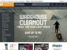 Sierra Trading Post screenshot