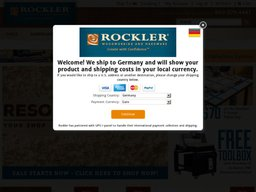 Rockler screenshot