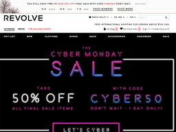 Revolve Clothing  screenshot