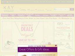 Kay Jewelers screenshot