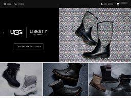 UGG Australia screenshot