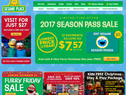 Sesame place coupon code