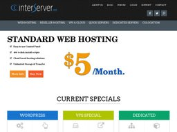 InterServer screenshot