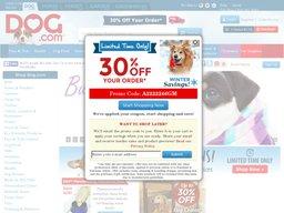 Dog.com screenshot