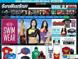 SuperHeroStuff screenshot