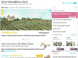 Gold Medal Wine Club screenshot