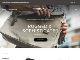 Timbuk2 screenshot