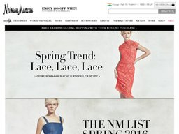 Neiman Marcus screenshot