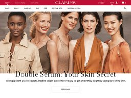Clarins screenshot