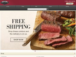 Omaha Steaks screenshot