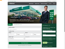 National Car Rental screenshot