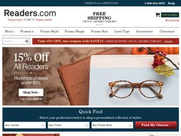 Readers.com screenshot