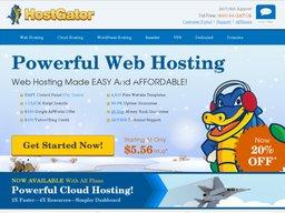 Hostgator screenshot