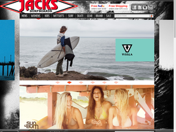 Jack's Surfboards screenshot
