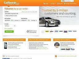 CarRentals.com screenshot