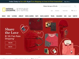 National Geographic Store screenshot