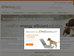 PetDoors.com screenshot