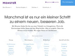 Monster.com screenshot