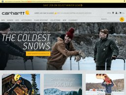 Carhartt screenshot