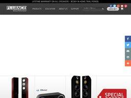 Fluance.com screenshot