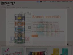 Kusmi Tea screenshot