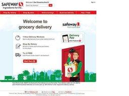 Safeway screenshot