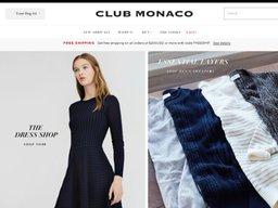 Club Monaco screenshot