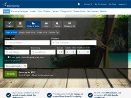 Travelocity screenshot