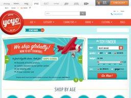 YoYo.com screenshot