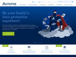Acronis screenshot