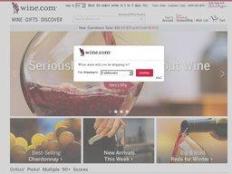 Wine.com screenshot