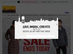 Brooklyn Industries screenshot