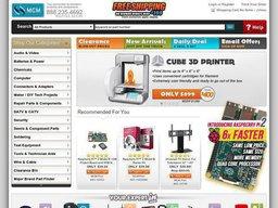 MCM Electronics screenshot