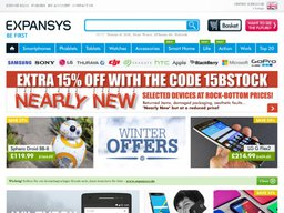 Expansys screenshot