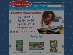 Melissa & Doug screenshot
