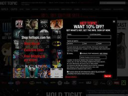 picture about Hot Topic Printable Coupon identify 20% OFF + Further $15 Sizzling Subject Coupon - Established 29 mins back!