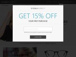 EyeBuyDirect screenshot
