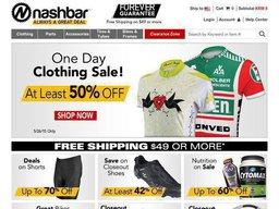 Nashbar screenshot