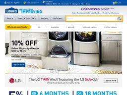 Lowe's screenshot