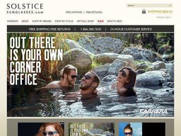 Solstice Sunglasses screenshot