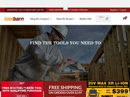 ToolBarn screenshot