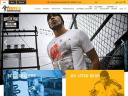 MMA Warehouse screenshot