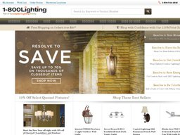 1800Lighting.com screenshot