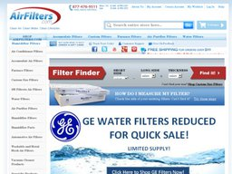 AirFilters.com screenshot