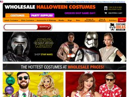 Wholesale Halloween Costumes screenshot