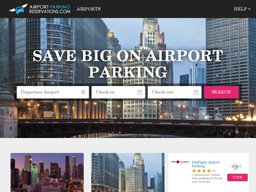 AirportParkingReservations.com screenshot