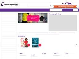 The Book Depository screenshot
